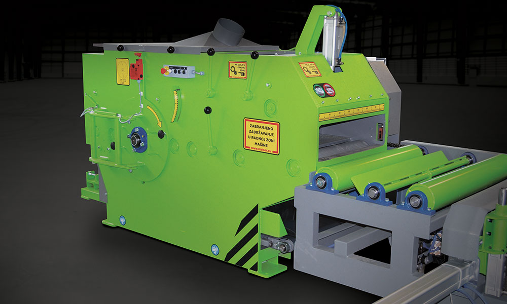 Sawmilling machinery for every aspect of log sawing- MEBOR