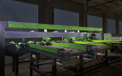 Introducing: New edging and multi ripping line with scanning from Mebor